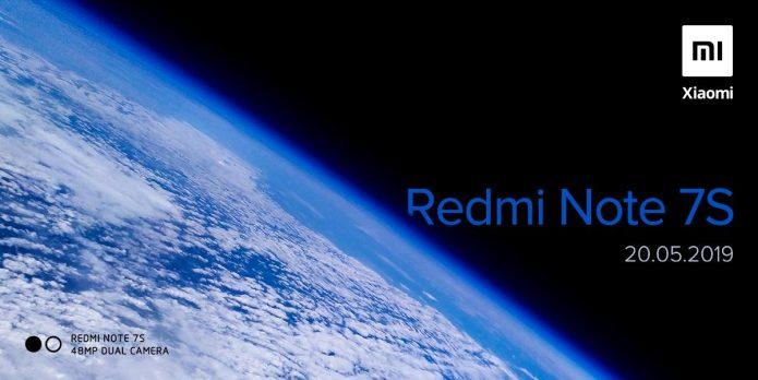 Тизер с датой анонса Redmi Note 7S
