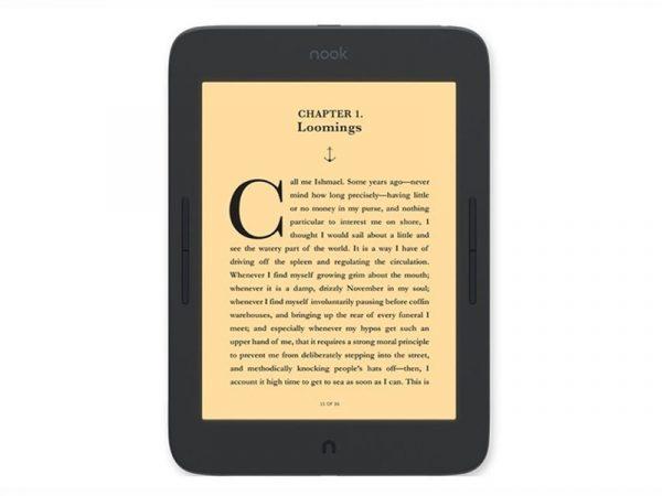 Представлена электронная книга Nook GlowLight Plus с 7,8-дюймовым экраном
