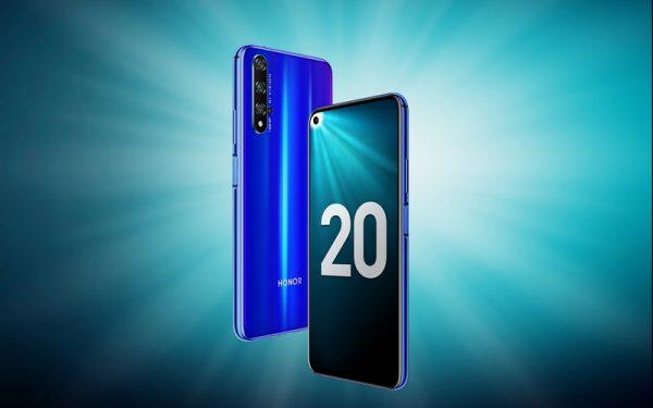 Смартфон Honor 20 поступает в продажу в России
