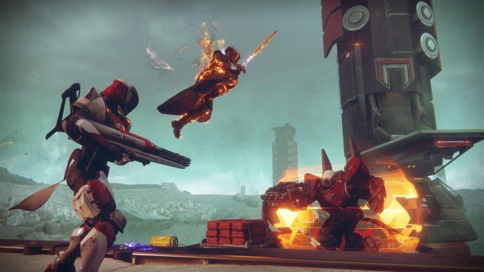 Кадр из игры Destiny