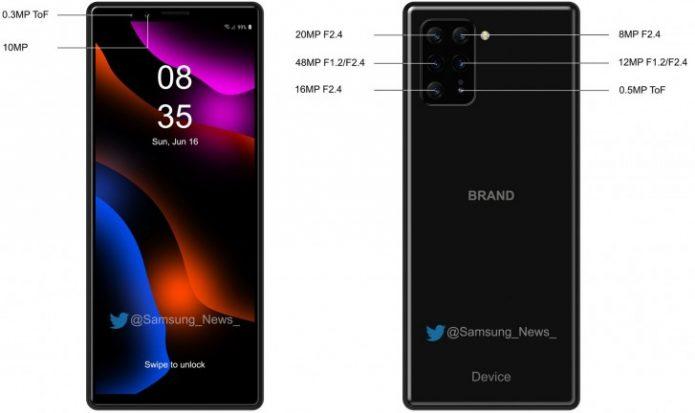 Смартфон Sony с восемью камерами