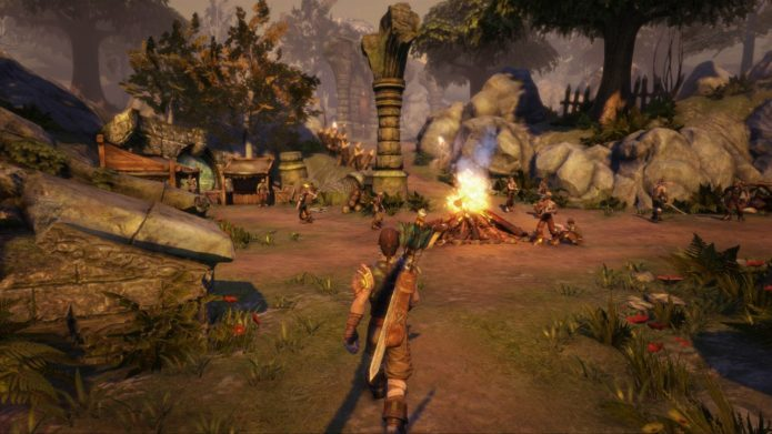 Кадр из игры Fable