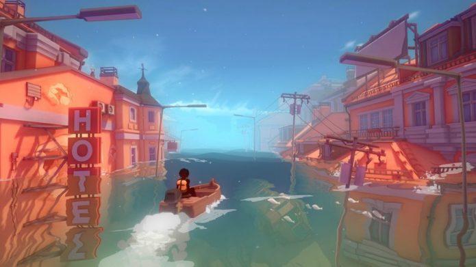 Кадр из игры Sea of Solitude