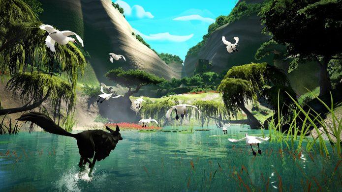 Кадр из игры Lost Ember