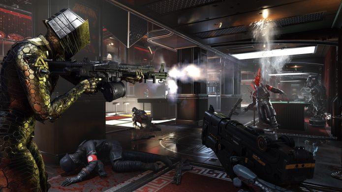 Кадр из игры Wolfenstein: Youngblood