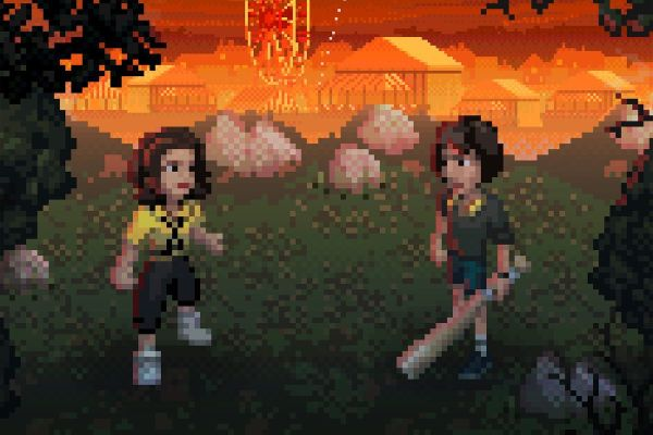 Кадр из игры Stranger Things 3: The Game