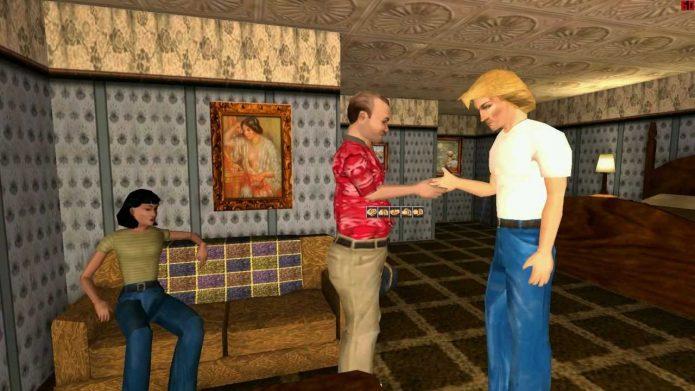 Кадр из игры Gabriel Knight 3