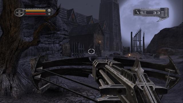 Кадр из игры Darkwatch