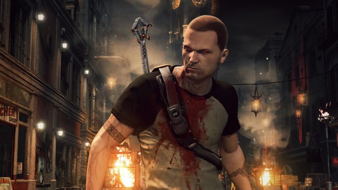 Кадр из игры Infamous 2: Festival of Blood