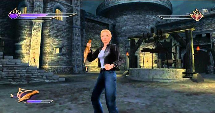 Кадр из игры Buffy