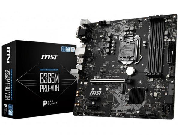 Представлена матплата MSI B365M PRO-VDH для процессоров Intel