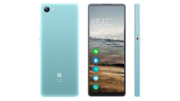 Ультрабюджетный смартфон Qin 2 получил экран с соотношением сторон 22,5:9
