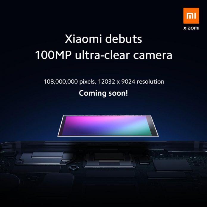 Рекламный постер, посвящённый 108-мегапиксельной камере