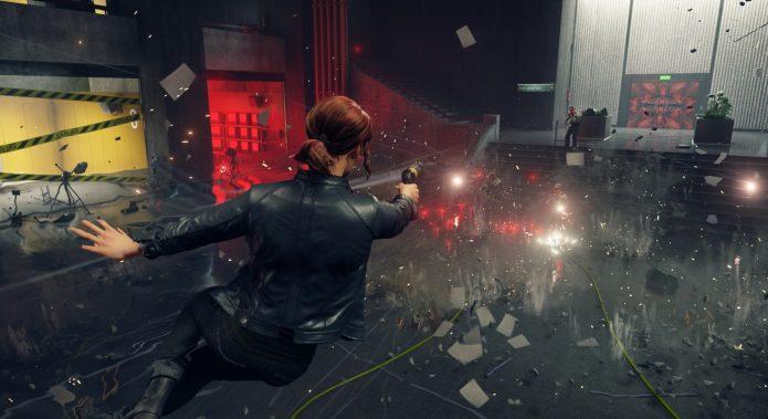 Кадр из игры Control