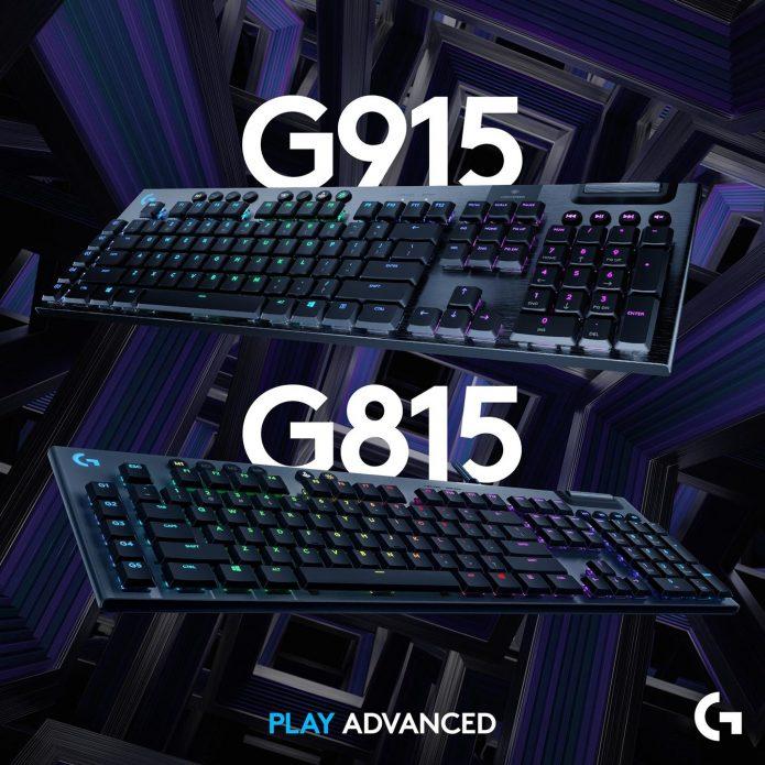 Logitech G915 Lightspeed и G815 Lightsync RGB