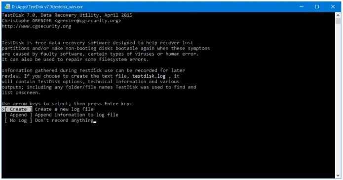 Создание лог-файла
