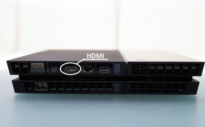 HDMI разъём PS4