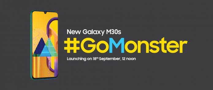 Тизер с датой анонса Samsung Galaxy M30s