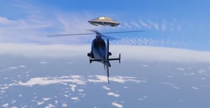 Летающие тарелки в GTA 5