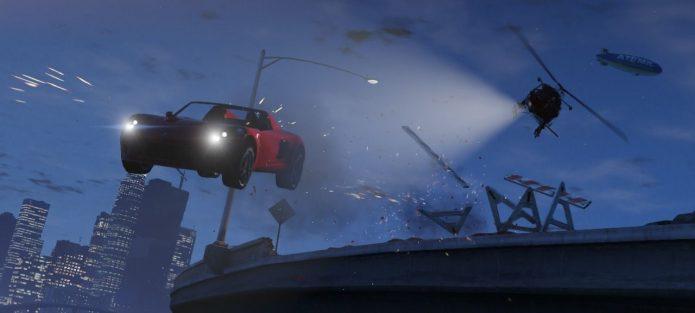 Кадр из игры GTA 5