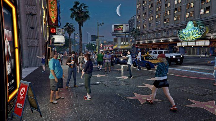 Аллея звёзд в GTA 5