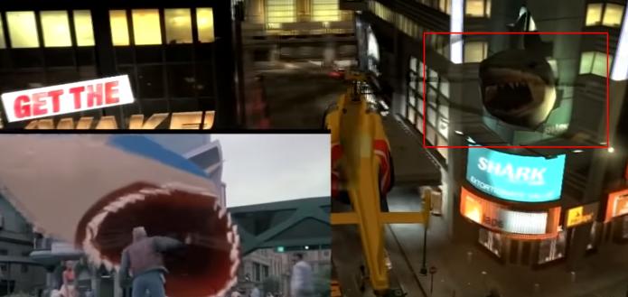 Акула из фильма «Назад в будущее» в GTA IV