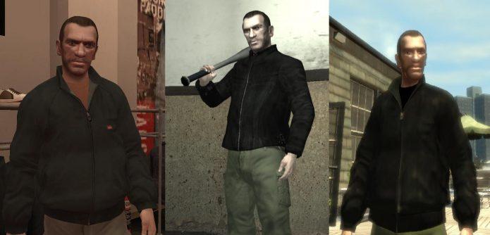 Одежда Клода в GTA IV