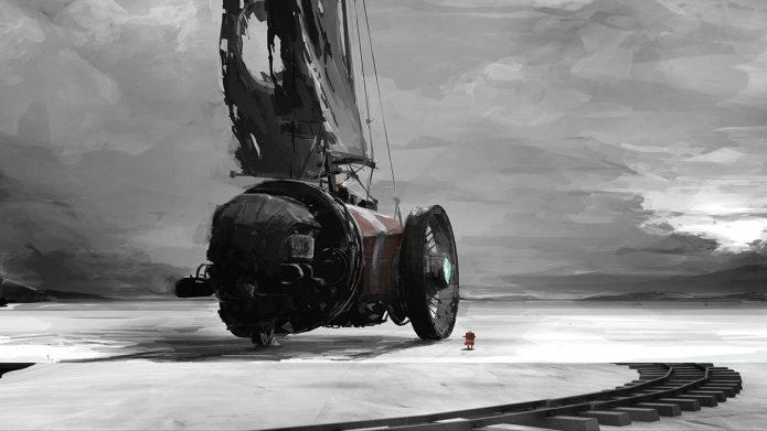 Кадр из игры FAR: Lone Sails