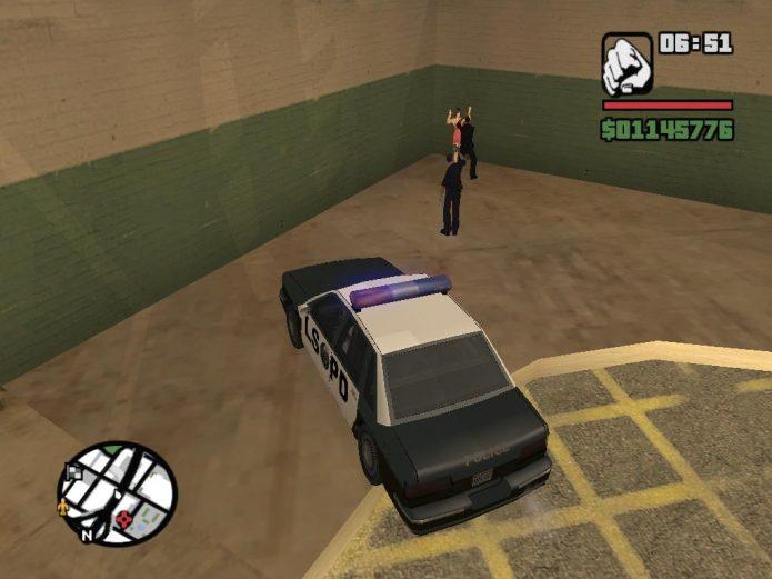 Копы в GTA San Andreas