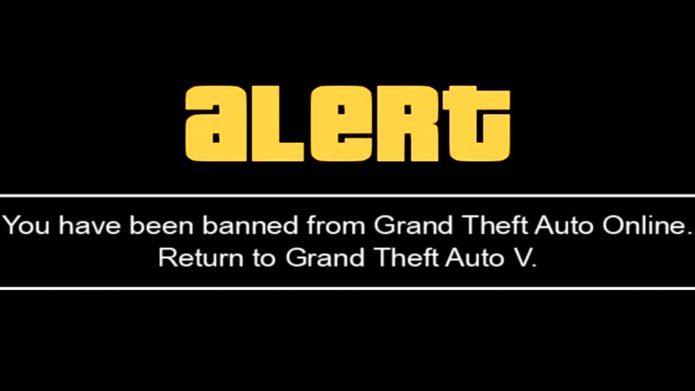 Бан за читерство в GTA
