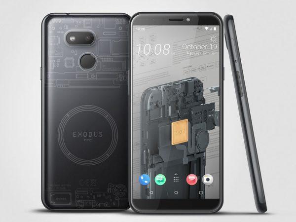 Представлен блокчейн-смартфон HTC Exodus 1s