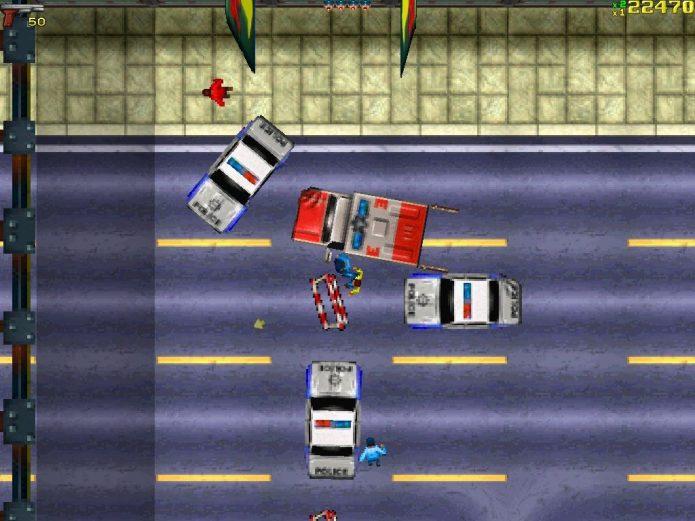 Геймплей Grand Theft Auto