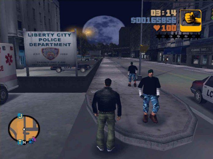 Игровой процесс в Grand Theft Auto III