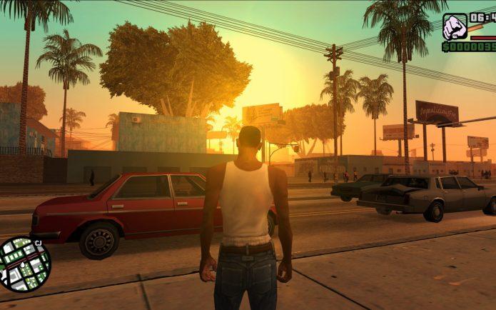 Геймплей в Grand Theft Auto: San Andreas