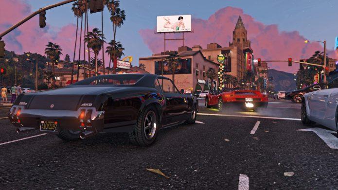 Игровой процесс в Grand Theft Auto V