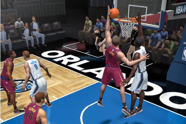 Баскетбол пришёл на смартфоны
