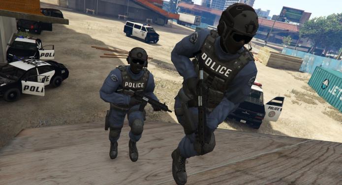 Полиция в игре GTA