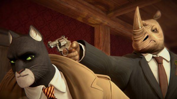 В сети появился новый ролик, посвящённый геймплеюBlacksad: Under the Skin