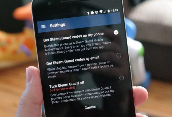 Как активировать защиту Steam Guard в Steam